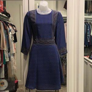 Madewell silk spring dress size XS